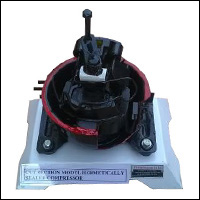 CUT SECTION MODEL HERMETICALLY SEALED COMPRESSOR