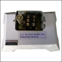 CUT SECTION MODEL OF PRESSURE SWITCH