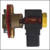 CUT SECTION MODEL OF SOLENOID CONTROL VALVE