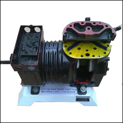 CUT SECTION MODEL OPEN TYPE RECIPROCATING COMPRESSOR