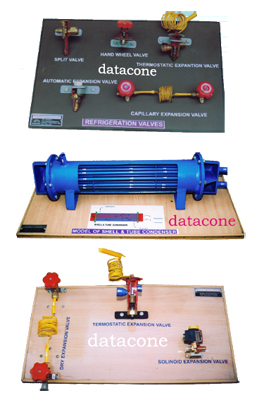 REFRIGERATION & AIR CONDITIONING ACCESSORIES DISPLAY & CUT MODELS